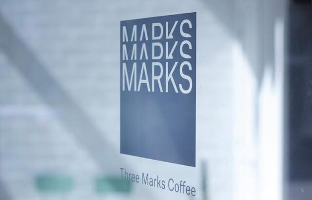 Three Marks Coffee brand